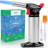 Chef Culinary Blow Torch Butane Adjust Flame Cooking Torch Lighter Creme Brulee