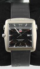 TAG HEUER PROFESSIONAL SPORTS GOLF WAE1111.FT6004 TIGER WOODS RUBBER WATCH
