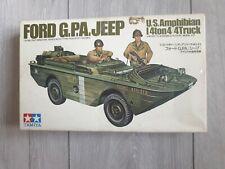 1/35 Built US Amphibian Ford G.P.A. Jeep not Built