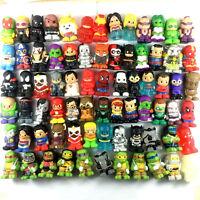 "Random 10pcs DC Comics/Marvel Heroes/TMNT Ooshies Pencil toppers 1.5"" Figure Toy"