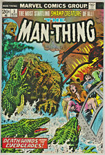 MAN-THING#3 VF 1974 FIRST FOOLKILLER MARVEL BRONZE AGE COMICS