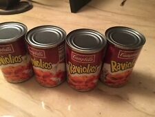 New listing Campbell's Raviolios Discontinued Exp 12/22/2020 4 Cans