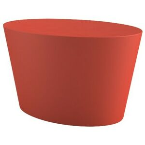 Knoll - Maya Lin Adult Stone Seat in Warm Red - New