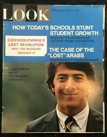 LOOK MAGAZINE - Sep 17 1968 - DUSTIN HOFFMAN / Czechoslovakian Revolution