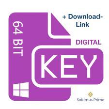 Windows 10 Professional 64 Bit E-Mail Product Key Retail Aktivierungsschlüssel