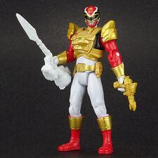 "Power Rangers Megaforce Ultra RED RANGER 4"" Action Figure Bandai 2013"