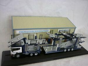Oxford Diecast/Modern 1:76th Truck Scania Car Transporter Robinsons 76SCT007