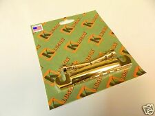 Kluson Kstopal-G Lightweight Aluminum Stop Tailpiece Gold Us Guitars Only