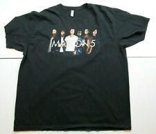 Maroon 5 Tour 2016-2017 Men's Black Concert Tee T Shirt Size 2Xl