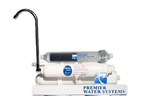 Portable Countertop RO Reverse Osmosis Low Pressure ALKALINE Water Filter System