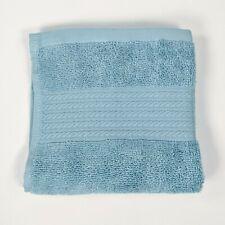 Ralph Lauren RL - Greenwich Offshore Blue Face Towel/Washcloth - 100% Cotton