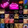 LED Neon Sign Licht Light Wandleuchte Beleuchtung Raum Dekor Schlafzimmer Kinder