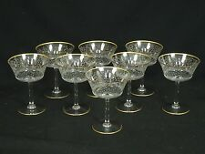 RARE LOT of 8 40's BACCARAT JASMINA CHAMPAGNE TALL SHERBET* NEVER USED ~ 5.25""