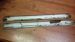 HOLDEN Torana LC LJ Front SCUFF PLATES GTR XU1 good used condition 4 door