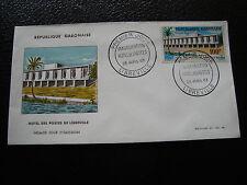 GABON - enveloppe 1er jour 28/4/1963 (cy57)
