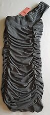 WISH womens shredded party summer stretch Dress !!NEW WITH TAGS!! Size 10