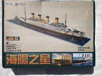1860 Pcs 3D Classic Titanic Model - DIY Building Bricks Blocks Set-Ship From US