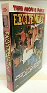 Excitment Unlimited - 10 Movie DVD Box Set - AusPost with Tracking