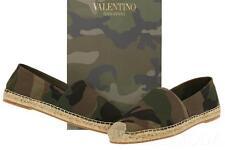 NEW VALENTINO GARAVANI MEN'S CAMO CANVAS ESPADRILLES SLIP ON SHOES 41/US 8