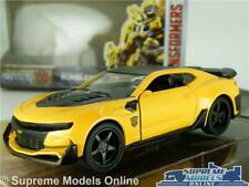 BUMBLEBEE TRANSFORMERS CHEVY CAMARO CAR MODEL YELLOW 1:32 SIZE JADA FILM USA T3