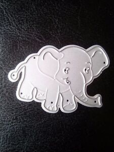Cute Little Elephant metal cutting die cutter UK Seller Fast shipping