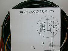 IMPIANTO ELETTRICO ELECTRICAL WIRING MOTO GUZZI ZIGOLO 110/2°+SCHEMA ELETTRICO