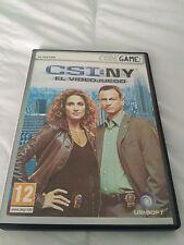CSI:NY El Videojuego Pc Dvd Rom Codegame