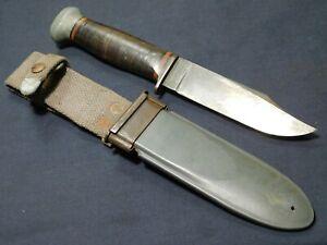A+  WWII US Navy Mk1 Fighting Knife PAL RH-35 USN Mark 1 Deck, Pilot utility