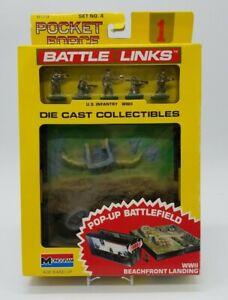 Monogram 8179 Set #4 Pocket Force Battle Links Die Cast WWII Beachfront Landing
