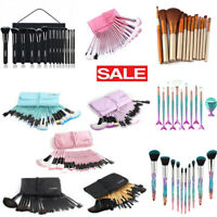 32Pcs Makeup Brushes Cosmetic Eyebrow Shadow Blush & More Hot Styles Top Sell