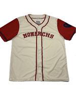 Kansas City Monarchs Baseball Unisex Adult Jersey Beige Red Fox Sports XL
