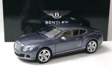 1:18 Minichamps Bentley Continental GT 2011 GREY Dealer New chez Premium-MODELCAR