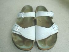 Womens Birki's By Birkenstock buckle slides sandals sz 41 US 10