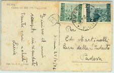 68815 - ISTRIA & LITORALE Sloveno  - Storia Postale -  CARTOLINA da RIJEKA 1976