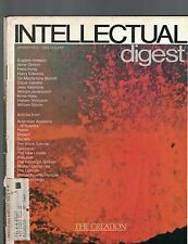 Intellectual Digest Magazine March 1972 William Styron Hans Kung