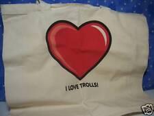 I Love Trolls Tote Bag - New