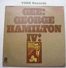 GEORGE HAMILTON IV - Gee! - Excellent Condition LP Record Hilltop JS-6161