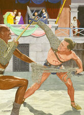 Spartacus Kirk Douglas Art Print