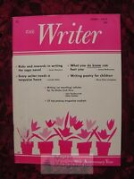 The WRITER June 1977 Susan Howatch James McKimmey Myra Cohn Livingston