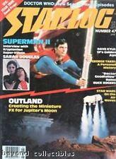 STARLOG #47 - SUPERMAN COVER - STAR WARS - BUCK ROGERS - GEORGE TAKEI - OUTLAND
