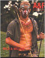 Abercrombie & Fitch 2000 Spring Break Catalog A&F Quarterly Bruce Weber Wild