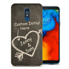 Personalized Custom Text Letter Chalkboard Forever Case TPU Cover For LG Phone