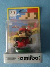 Amiibo Mario Classic 30th Anniversary CIB New