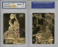 KOBE BRYANT 1996-97 Fleer ROOKIE Signature 23KT Gold Card - GEM MINT 10