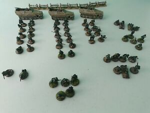 Painted WWII German Army - Black Tree Design and Others