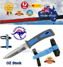 Scuba Diving Snorkelling Knife With Straps -new