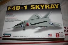 LINDBERG F4D-1 SKYRAY  1/48 NO DECALS OR INSTRUCTIONS