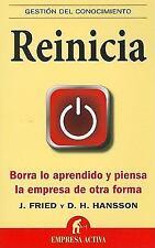 Reinicia Spanish Edition Gestion del Conocimiento