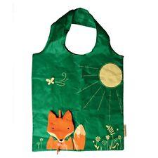 Sass & Belle Foldable Reusable Eco Friendly Shopping Bag Fox Woodland