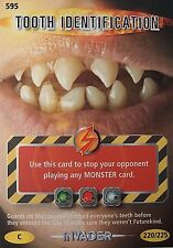 DOCTOR WHO<>BATTLES IN TIME TRADING CARD<>TOOTH IDENTIFICATION<>CARD No. 595